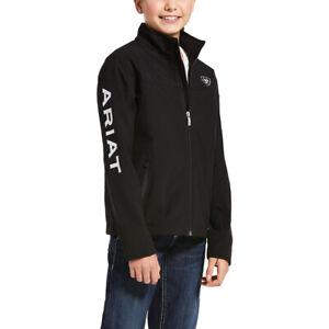 Ariat® Girl's Black New Team Softshell Jacket 10028657