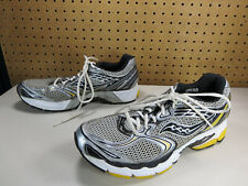Saucony mens black yellow gray Guide 3 running shoes 11 M EUC