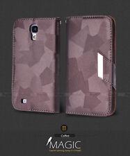 NEW Premium Luxury Silk Magic Wallet Case Cover For Samsung S IV S4 i9500 i9505