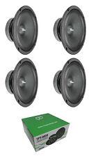 """4x Full Range Mid Bass Loud Speaker 8"""" 8 Ohm 1140W Peak"""