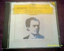 MAHLER-SYMPHONIE No.5 CD SINOPOLI,PHILHARMONIA ORCHESTRA