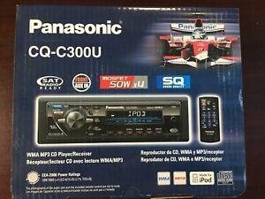 panasonic CQ-C300U  WMA MP3 CD PLAYER