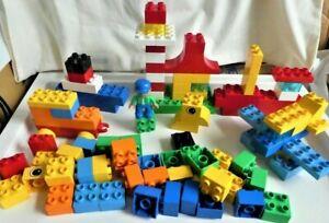 LEGO Duplo Set 5572 Build & Play - 99 Bricks, 1 Minifig - No Tub, No Instruction