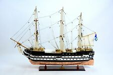 "HMS CONWAY School Ship Copper Hull 38"" - Handcrafted Wooden Ship Model"