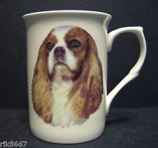 King Charles Spaniel (Head BF) dog Fine Bone China Mug Cup Beaker