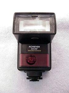 FOR Nikon F401,F501,F801 Achiever 260AF Flash | NIB | May fit other models ?