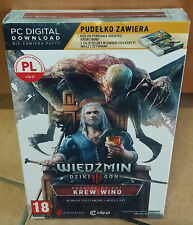 Wiedźmin 3 III Krew i Wino Dodatek PC The Witcher 3 Blood and Wine BOX NEU OVP