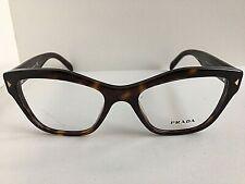 New PRADA VPR 2S7 AU2-1O1 51mm Tortoise Cats Eye Women's Eyeglasses Frame #5