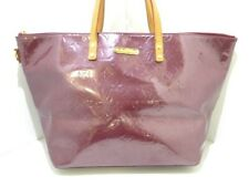 Auth LOUIS VUITTON Bellevue GM M93588 Violette Monogram Vernis Shoulder Bag