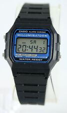 Casio Digital Retro Illuminate Watch F-105W-1 Free Shipping Brand New