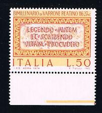 ITALIA 1 FRANCOBOLLO MARCO TERENZIO VARRONE 1974 nuovo**  (BI11.260)