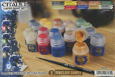 Citadel Layer Paint Set (60-25)  NEW