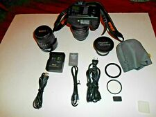 Nikon D3000 DSLR Camera Package w/ extra Pro Lens ] Very Nice + I Ship Faster