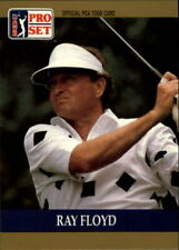 1990 Pro Set Golf Card #17 Raymond Floyd