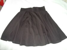H & M DIVIDED ladies black stretchy skater work/casual skirt - XS bnwt