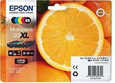 Orig. Epson C13T33574010 Druckerpatrone T33XL 33XL 5er Pack Angebot Neu!!!