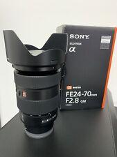 Sony SEL2470GM FE 24-70mm F/2.8 GM Lens for Sony E Mount