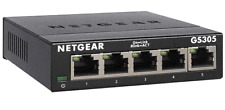 5-Port Gigabit Ethernet Unmanaged Switch-Home Network Hub Office Ethernet Splitt