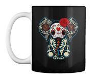 Day Of The Dead Elephants Gift Coffee Mug