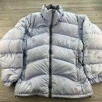 *Mountain Hardwear Women's Downtown 650 Goose Down Jacket S Blue Puffer Coat