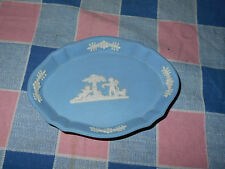 Wedgwood Jasperware Small Tray Cupids by Tree 4 3/8 Inch Wide