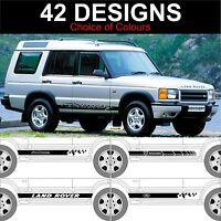 landrover discovery side stripe decals stickers land rover discovery 1989 - 2004