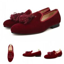Casual Mens Suede Tassel Youth Low Heel Slip On Loafers Leisure Penny Shoe New L