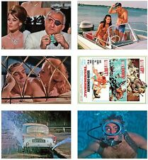 Thunderball James Bond 007 POSTCARD Set