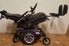 2015 Permobil M300 Electric Wheelchair w/ Power Tilt Recline,Leg. PURPLE