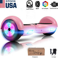 6.5'' Electric Hooverboard Balancing LED Scooter 2-Wheel Scooters nobag for Kids