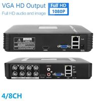 4/8CH Full HD CCTV 720/1080P CCTV/DVR/AHD/CVI/TVI Record Home Outdoor Security