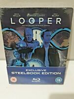 LOOPER Blu-Ray Limited Edition Exclusive MONDO UK Steelbook Brand New and Sealed