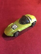 HOT WHEELS RED LINE SILHOUETTE ICEY LIME w DARK INT US Pat Pend