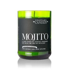 Mojito Perfumado viñedo reasignadas Vino/Botella De Champagne Vela-Nuevo