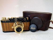 LEICA-2(D) OLYMPISCHEN 1936 BERLIN WWII VINTAGE RUSSIA RF BLACK CAMERA EXCELLENT