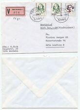 08442 - Berlin Mi.Nr. 849 u. Bund Mi.Nr. 1427 und 1433 - MiF - Wertbrief Werdohl