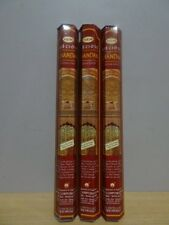 Precious Chandan Incense  3 Packs x 20 Sticks  HEM Hex   Free Post AU