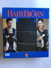 BABY BJORN BABY CARRIER CITY BLACK GREAT CONDITION
