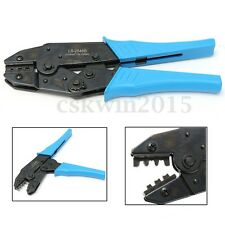 MC4 Solar Panel Cable Connector Crimping Pliers Tool Terminal Ratcheting Crimper