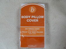 BODY HUG PILLOWCASE FROM SEARS, 200 THREAD COUNT - NEW / SEALED