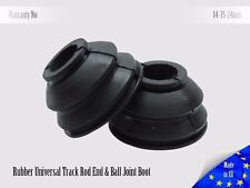 2 X Universal High Quality Rubber 14 35 24 Tie Rod End and Ball Joint Dust Boots