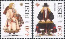 Estonia 2001 trajes tradicionales/Ropa/Textil/Diseño/Heritage 2 V Set ee1129