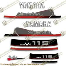 Yamaha 115hp V4 Saltwater Series Decals