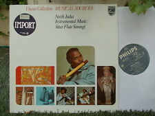 UNESCO Collection: North India instrumental sitar flute sarangi / Philips NL NM