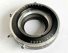 """Copal 3 Shutter """"Scaled"""" to Your Lens!"""
