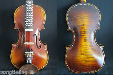 SONG maestro inlay Baroque style 4/4 violin, huge and powerful sound.