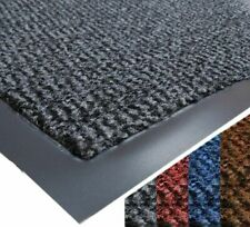 Barrier Rubber Mat Door Entrance Rug Outdoor Kitchen Hallway PVC Edge Dirt Stops