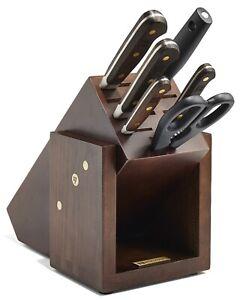 Wusthof Crafter 7 Piece Block Knife Set 8767 NEW