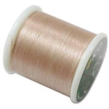 K.O. Beading Thread Natural Japanese Bead Thread 43322 55yd Nylon Waxed KO