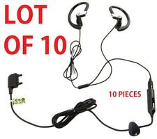 10x OEM Sony Ericsson Stereo Headset Earbuds Headphones w/ Mic and Answer Key